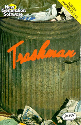Trashman (New Generation Software) Cover (old)