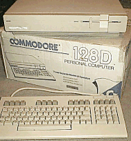 Boxed Commodore 128D aka C128D