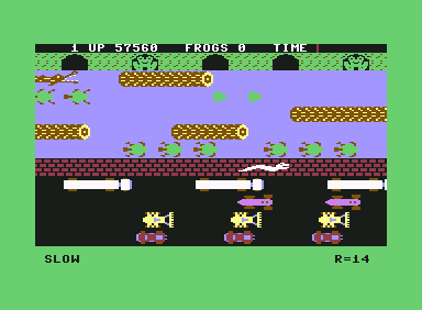 frogs and flies commodore 64 commands