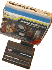 The Commodore Sound Expander cartridge