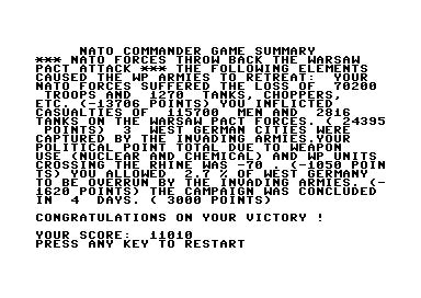 Topscore of Robotron2084