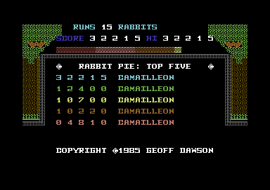 Topscore of Camailleon