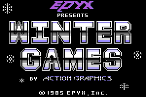Title image of Winter Games
