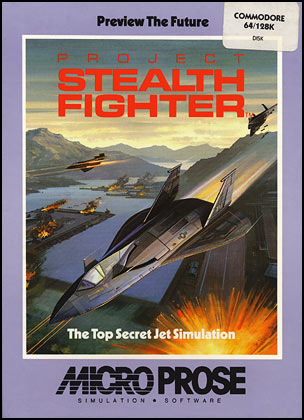 Project Stealth Fighter C64 Wiki