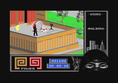 c64 robocop how to start game