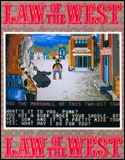 Cover of Law of the West