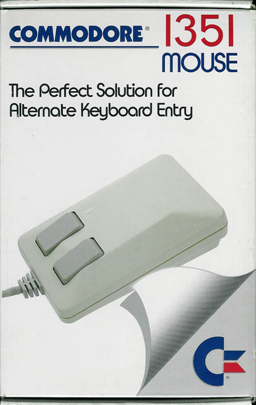 Commodore 1351 Mouse Box