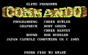 Title image from Commando