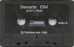 "... Cassette of ""Denaris"" ..."