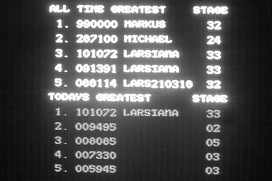 Topscore of LARSIANA
