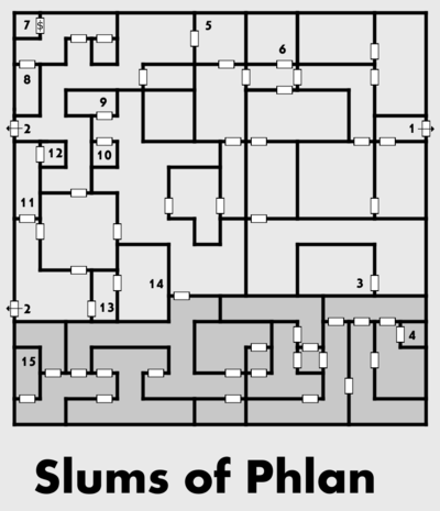 Map of the Slums