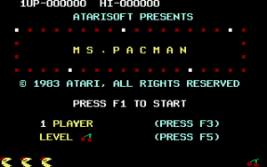 Titleimage from Ms. Pac-Man