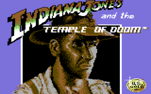 Title screen of the game