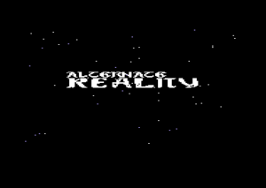 Start screen of game