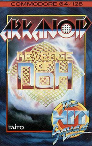 """Cover"" of Arkanoid 2"