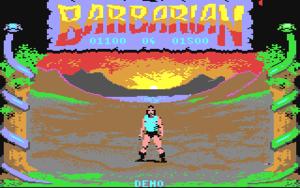 Barbarian Startscreen