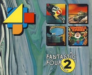 Fantastic Four 2 Frontcover