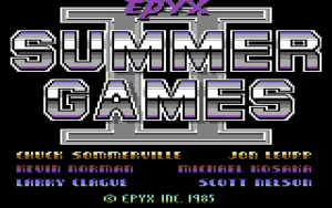 Summer Games II - C64-Wiki