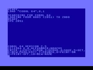 COBOL 64/COBOL 128 - C64-Wiki