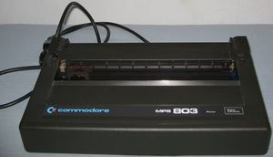 Commodore MPS 803