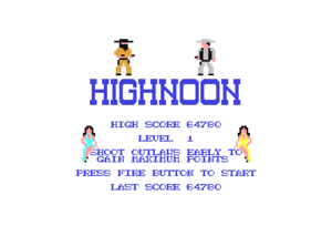 Marvin Highnoon Highscore.png