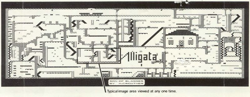 ... the original map which was enclosed to the game