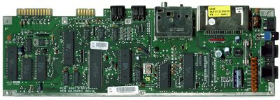 C64C motherboard, produced in 1992