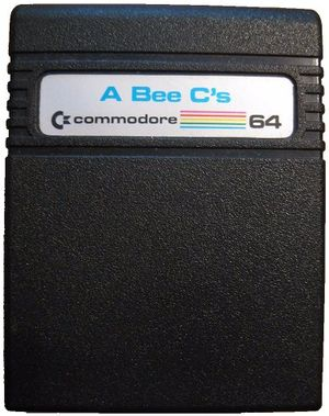 Game cartridge A Bee C's C-64320