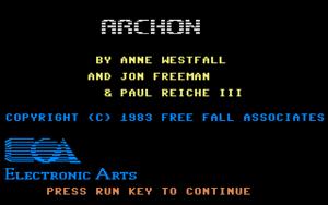 Title image of Archon