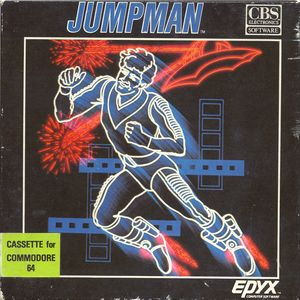Jumpman (Epyx - CBS Electronics Software) Front Cover.jpg