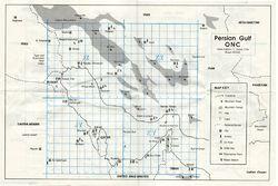 Map of Persian Gulf