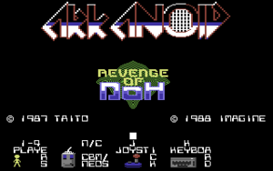 Titleimage from Arkanoid 2