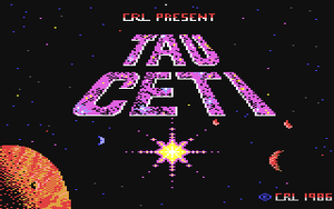Title screen from Tau Ceti